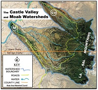 Mill and Castle Creek Watersheds